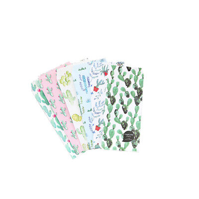 5pcs/lot Cactus Paper Envelopes Letter Paper Greeting Card Storage Bag Gifts