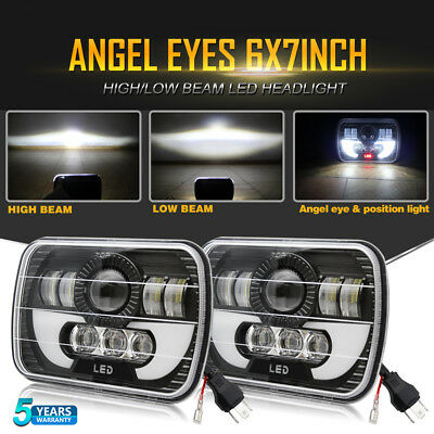 "7x6"" LED Sealed Hi-Lo Beam Headlights For GMC Savana 1500 3500 2500 Safari Truck"