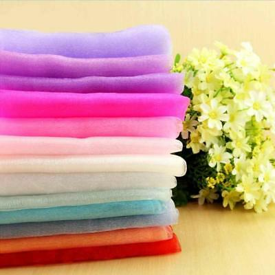 50m*75cm Tulle Mesh Trim Flexible Fabric Braid Wedding Dress Sewing Decor