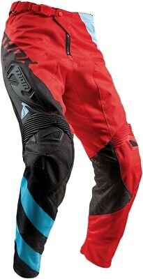 Thor S8 Fuse Air Rive Pants Red/Blue 36