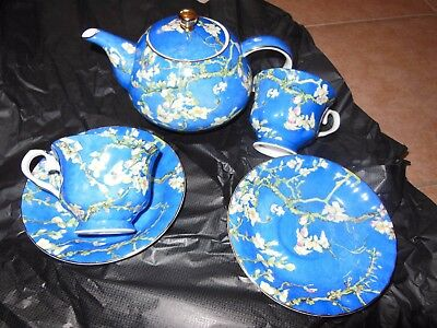 T2 Teapot And T2 Bone China Cups And Saucers Set