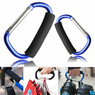 Large Buggy Mummy Clip Pram Pushchair Shopping Hook Carabiner