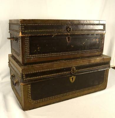 TWO ANTIQUE CHINA TRADE CAMPHOR WOOD CHESTS Lot 62
