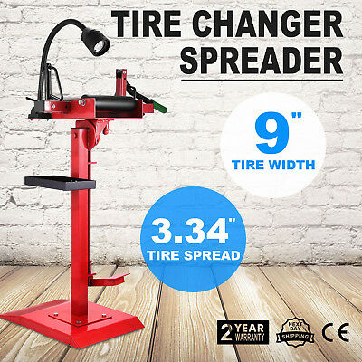 Car Light Truck Tyre Spreader Tire Changer On Pedestal Floor Repair Manual