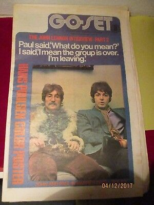 Out Of My Collection-Go Set  Magazine 1971