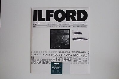 Ilford Photographic Paper 8x10 in Pearl 8 sheets MG4RC44M
