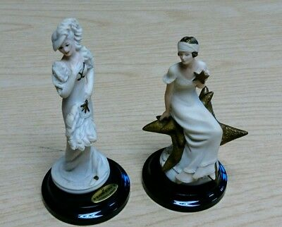 Giuseppe Armani Miniature Figurines 2 Naples/capodimonte  Porcelaine Ltd Edition