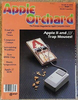 Apple Orchard Magazine 1984 The Premier Magazine For Apple Computer Users