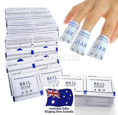 Gel Nail Polish Remover UV Soak Off Removal Wraps Nail Art Cleaner