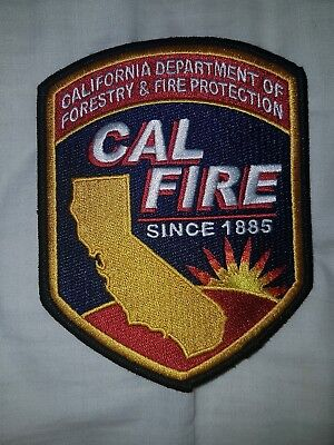 US California Fire and Forestry Patch - Wildlife DNR Rescue