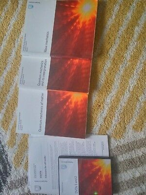 Open University SM358 The Quantum World Full Set of Books and DVDs