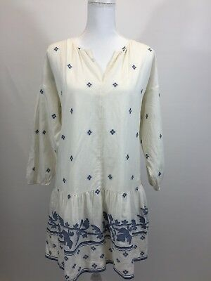 733be778f4b New Madewell JCREW Jacquard Long Sleeve Tunic Dress Size S G6486 $145 Sold  Out!