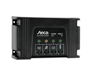 Dual Battery Solar Charge Controller Steca Solarix 2020-X2 20A 12/24V