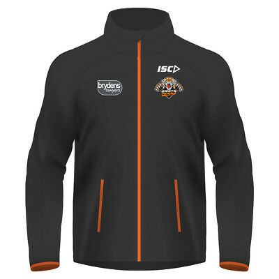 Wests Tigers 2018 NRL Adults Mens Wet Weather Jacket  BNWT Rugby League