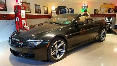 2008 BMW M6  2008 BMW M6 Convertible  V10 500HP only 25k  MILES