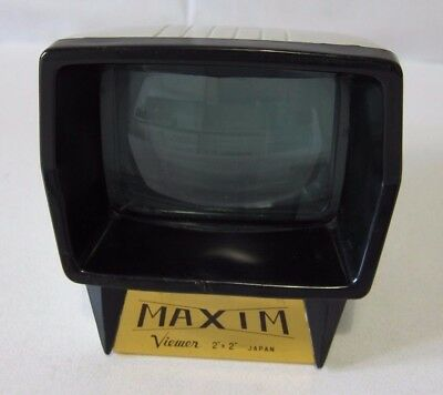 Visor diapositivas vintage MAXIM viewer (2x2) Slide viewer