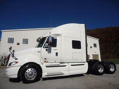2011 International Prostar Plus + 73 Inch Condo Sleeper 450 Hp Tandem Tractor