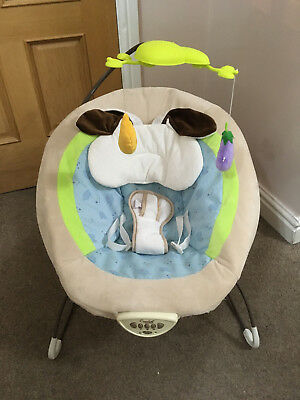 Baby Musical Swinging Vibration Bouncer Chair Toddler Comfortable Safety Rocker