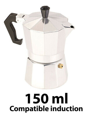 Cafetière italienne 150 ml compatible induction - Cucina Dimodena