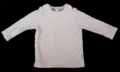 Hugo Boss Baby Girl Pink Top Blouse Age 9 Months 71Cm