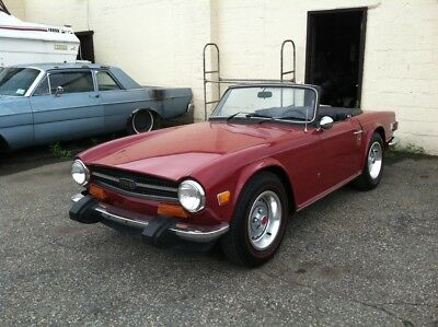 1974 Triumph TR-6  BEAUTIFUL 74 Triumph TR6 ALL ORIGINAL, RESTORED, 2ND OWNER OVER 20 YEARS, CLEAN