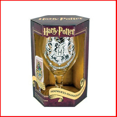 Harry Potter Hogwarts Crest Colour Changing Drinking Glass