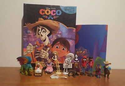 Disney Pixar COCO My Busy Book + 12 Character Figurines & Playmat