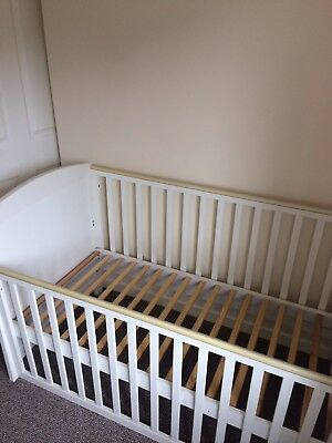 Mothercare White Cot Bed