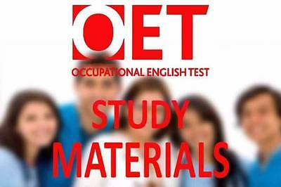 OET-2017 Latest Practice Material For NURSE EN & RN