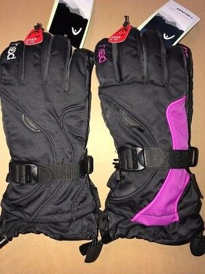 NEW Head Jr. Ski Gloves  KIDS  NWT **PICK YOUR COLOR AND SIZE W/POCKET FREE SHIP