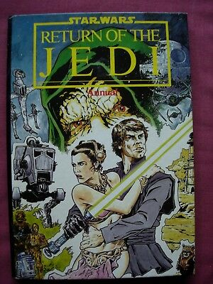 Star Wars Return of the Jedi Annual 1984 Unclipped Marvel/Grandreams VFN