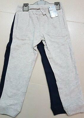 ☆☆☆BNWT age 5 years new mothercare Boy's blue & grey joggers - 2 pack £12☆☆☆