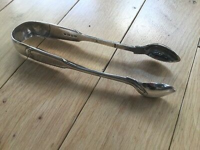 Hallmarked Silver Sugar Tongs