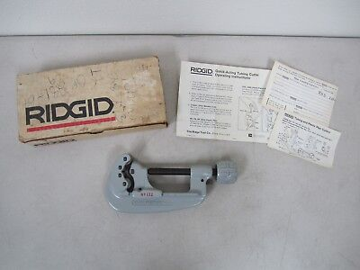 "Ridgid #132 Quick-Acting Tubing Cutter - 1/4"" to 2-5/8"""
