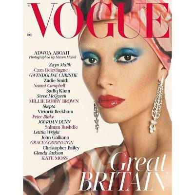 Vogue UK Magazine December 2018 - Adwoa Aboah