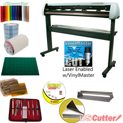 "53"" USCutter New SC2 Vinyl Cutter BUNDLE Sign Cutting Plotter w/VinylMaster Cut"