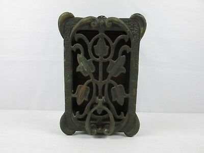 ANTIQUE 1930s PEABODY-ACKER PROHIBITION-ERA SPEAKEASY PEEPHOLE DOOR KNOCKER RARE