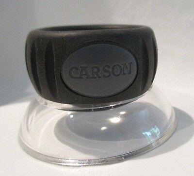 CARSON Lumi Loupe 17.5X Power Focusable Stand Magnifier LL-15 or LO-10 11.5X