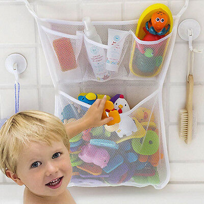 Nursery Diaper Organizer Storage Mesh Bag Bedside Caddy for Baby Crib/ The pram