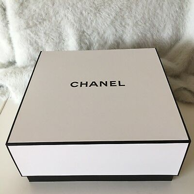 Chanel Hard Cardboard Gift Box New & Authentic