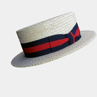 CAPAS AUTHENTIC BOATER HAT THE SKIMMER – MADE IN ITALY - Same Day Shipping