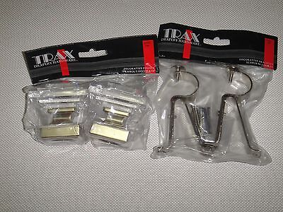 GLASSES  FINIALS AND BRACKETS SET FITS FOR 1 1/8 [28 mm] DIAM. ROD