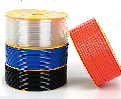 New PU Pneumatic Tube Pipe Hose Tubing Different Size And Color 5m 10m 25m long