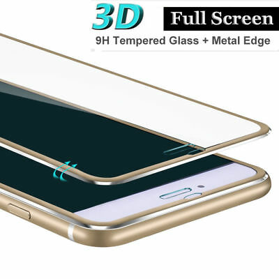 3D Titanium Alloy 9H Tempered Glass Screen Protector Film For iPhone 6 6s 7 Plus