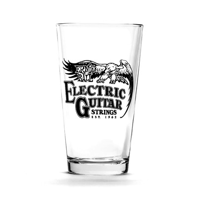 Ernie Ball Vintage Logo Pint Glasses (Set of 4)