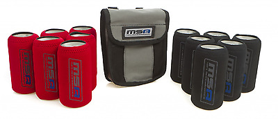 MSA 4X4 Tinnie Tubes with Canvas Bag Stubbie Cooler Bottle Holder TT1