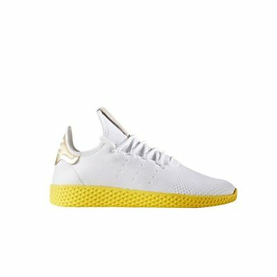 56a313c45 Adidas x Pharrell Williams Tennis HU (White Yellow) Men s Shoes Size 11  BY2674