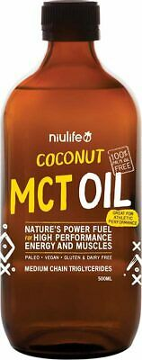 Coconut MCT Oil 500ml - Niulife