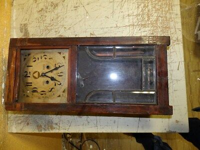 Old Junghans Wall Clock Only For Parts Or Restauration