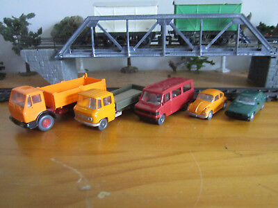 Viking Model Cars and Trucks HO x 5 excellent condition